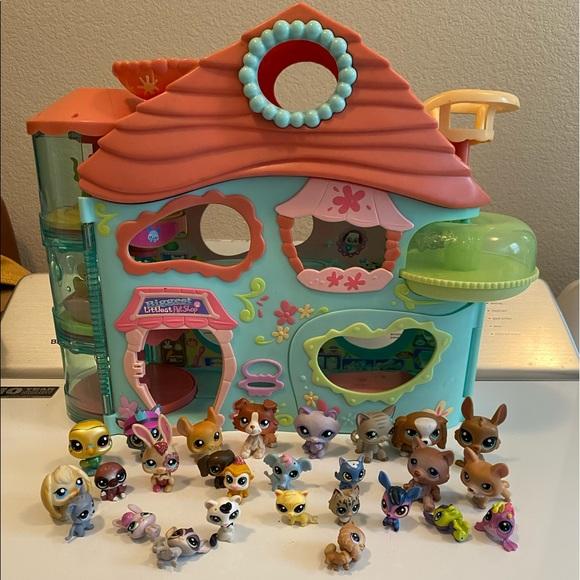 Biggest Littlest Pet Shop House LPS 2005 (27 LPS)